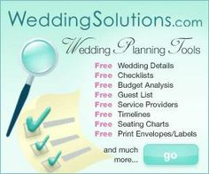 Free Wedding Planning Tools | The best collection of budgeting spreadsheets and checklists I've seen!