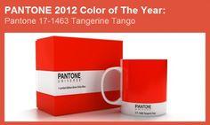 El color del año 2012 por Pantone