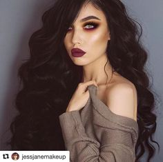 "Polubienia: 2,229, komentarze: 15 – Makeup Addiction Cosmetics® (@makeupaddictioncosmetics) na Instagramie: ""Stunning grunge look by @jessjanemakeup! We are living for this look right now! …"""