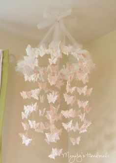 A Butterfly Chandelier {Megity's Handmade} | Oopsey Daisy