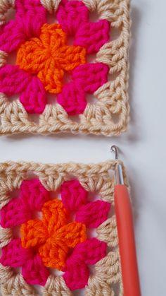 CÓMO UNIR CUADRADOS DE CROCHET CON PUNTO DESLIZADO – CHINITA Lana, Crochet Patterns, Fashion, Tutorial Crochet, Crochet Blankets, Crochet Square Patterns, Strands, Dots, Tejidos