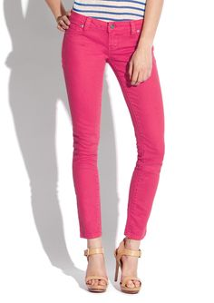 Standards And Practices Colored Skinny Jeans - Ideeli
