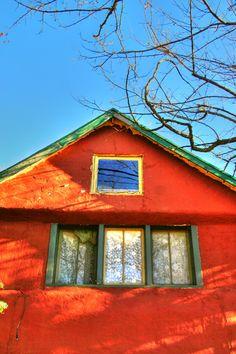 Old settler home in Julian California.