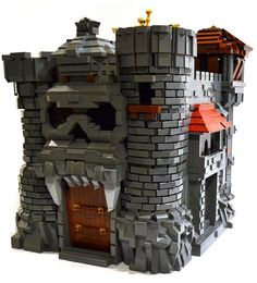 LEGO He-man Greyskull Castle. Remember He-man?