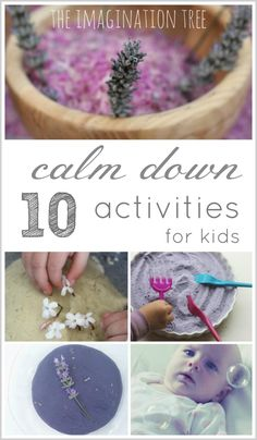 10 calm down activities for kids.