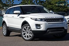 My next car  Land Rover Range Rover Evoque