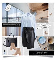 """She has amazing style..."" by tamara-p ❤ liked on Polyvore featuring Oris, Joseph, Tommy Hilfiger, Gianvito Rossi, Miss Selfridge, ANNA and Parlane"