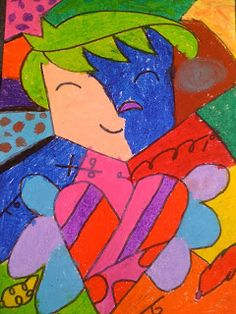 Imagine Explore Create: 04/01/2011 - 05/01/2011 Romero Brito self portraits