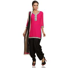 #Designer #WomensFashion #womesClothing #Dress #WomensDress Latest online collection from the house of Andaaz. Georgette kameez lined with poly crepe. For More Details Visit Here @http://www.andaazfashion.com.my/salwar-kameez/patiala-suits