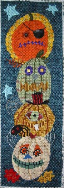 darling stitched pumpkin pattern