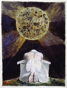 """Frontispiece """"The Book of Los"""" William Blake"""