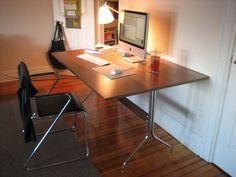 Herman Miller   Nelson Swag Leg Work Table DC