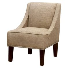 Hudson Swoop Chair Solids - Skyline. Image 1 of 4.