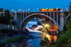 Spokane Falls, Washington