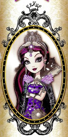 Ever After High - Raven Queen! Contrary to popular belief at Ever After High, Raven Queen is not evil or even so much as mean. Monster High, Ever After High Rebels, Raven Queen, Film D'animation, High Art, Princesas Disney, Box Art, Cartoon Art, My Little Pony