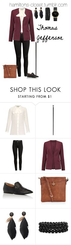 """""""Thomas Jefferson"""" by sophia-makes-things ❤ liked on Polyvore featuring Gucci, Alexander McQueen, Theory, The Row, Accessorize, Bling Jewelry and ROSEFIELD"""