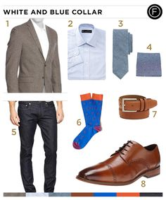 Known for his sly role in the popular TV drama, White Collar, Matt Bomer isn't just a world-class conman. You can get Matt Bomer's look with the daily outfit.