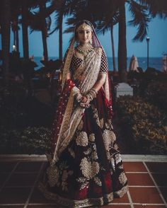 Find top trending and unique Sabyasachi Lehenga Designs for your dream bridal look. Best bridal lehenga designs by Sabyasachi for 2020 weddings. Indian Bridal Photos, Indian Bridal Outfits, Indian Bridal Lehenga, Indian Bridal Fashion, Indian Bridal Wear, Indian Dresses, Bridal Dresses, Indian Clothes, Indian Wear