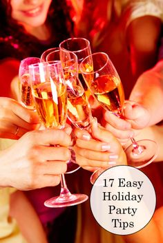 Holiday parties are festive and fun, and sometimes stressful to host. Here are some easy holiday party tips for a perfect party that you can enjoy along with your guests.