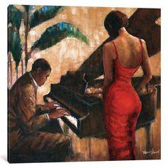 """African American Art """"Enchanting Keys"""" romantic art print by Monica Stewart in Art, Art from Dealers & Resellers, Prints Romantic Art, American Art, Online Wall Art, Culture Art, Poster Art, Art, African American Art, Framed Art Prints, Keys Art"""