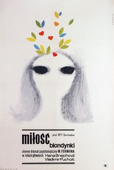 Loves of a Blonde, Polish Movie Poster