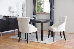 Baxton Studio Halifax Dining Room Chair (Set of 2) - Beige Linen Comfort First
