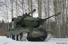 Marksman Self-Propelled Anti-Aircraft Gun | Military-Today.com