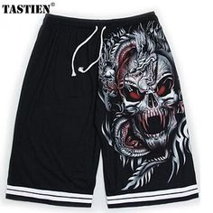 Men's Clothing Yx Girl Newest Skull Flowers Printing Shorts Men Women Bottoms Summer Shorts 2018 Casual Beach Shorts Unisex Short Pants Low Price