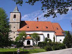 Horní Planá - church
