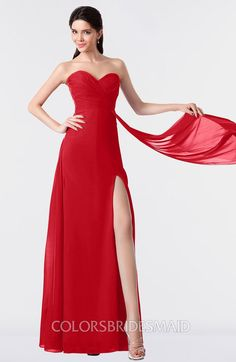 55a3665fae ColsBM Vivian - Red Bridesmaid Dresses
