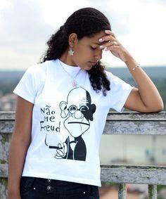 Não me Freud - Branca - Feminino