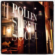 Pollen Street Social, London - #restaurant #London #JasonAtherton
