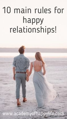 Everybody wants to be happy, and especially to have a happy relationship with the partner. At the beginning stages of the relationships, we are ready to do a lot of things to be loved, but so many things very often get forgotten during the routine daily life with time.  Read more to have  really happy relationships!