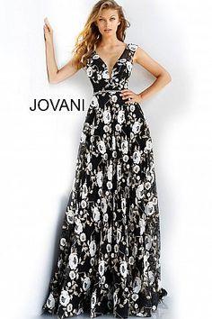 6845d4e0cdbe 20 Best Low V-Neck Dresses images   Formal dress, Evening gowns, Low ...