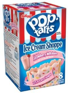 I'm learning all about Pop-tarts Toaster Pastries Strawberry Milkshake at @Influenster!