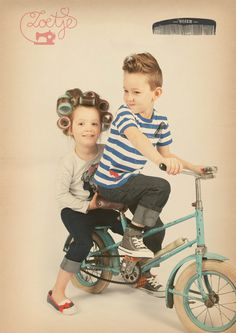 Zoetje Nozem rockabilly vintage retro fifties girls boys kids baby 50's