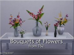 Bouquets of Flowers from TS2 by TheJim07 at Mod The Sims • Sims 4 Updates