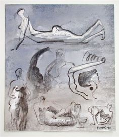 Henry Moore, Studies of naked women to use with sculptures Henry Moore Sculptures, New Art, Sketches, Drawings, Heart Flutter, Artist, Sketchbooks, Nudes, Journals