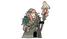 Laura, Mushroom Mage