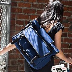 Our messenger bags are designed for everyday use. Each messenger features two laptop storage compartments, & quick-access front pockets. Mission Workshop, Laptop Storage, Commuter Bag, Thing 1, Best Bags, Bag Making, Leather Backpack, Fashion Backpack, Satchel