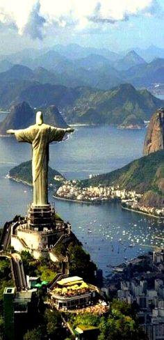 Travelling - Christ the Redeemer, Rio de Janeiro, Brazil