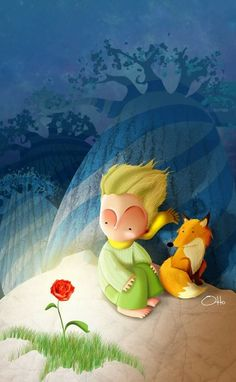 The Little Prince in art Little Prince Quotes, The Little Prince, Little Princess, Amazing Drawings, Animation Film, Cute Wallpapers, Tinkerbell, Iphone Wallpaper, Illustration Art