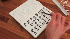 Welcome to Hand-Drawn Typography This course is designed for anyone interested in learning how to make their own hand-drawn font. Even if you've uttered th. Typography Fonts, Hand Lettering, Create Your Own Font, Famous Words, Cool Sketches, Handwriting, Diy Gifts, Hand Drawn, How To Draw Hands