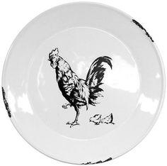 Talířek s kohoutem Decorative Plates, Tableware, Home Decor, Dinnerware, Decoration Home, Room Decor, Tablewares, Dishes, Home Interior Design