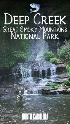 Visit the quieter side of the Great Smoky Mountains National Park - fly fishing, tubing, hiking, biking, and waterfall chasing --- all without the crowds! Nc Mountains, North Carolina Mountains, Appalachian Mountains, North Carolina Camping, Great Smoky Mountains Camping, Bryson City North Carolina, Mountain Park, Smoky Mountain National Park, Us National Parks