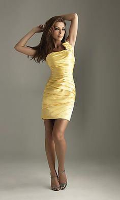 Actually have this dress but in red! Its super hot! Would make a great brides maid dress! HINT HINT SIS! lol