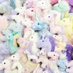 unicorn, colorful, and pastel afbeelding