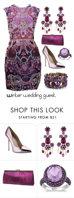 """Untitled #467"" by lulala002 ❤ liked on Polyvore featuring Valentino, Carvela Kurt Geiger, Oscar de la Renta, Gunne Sax By Jessica McClintock, Miadora, Bling Jewelry, WeddingGuest, dress, ombre and bestdressedguest"