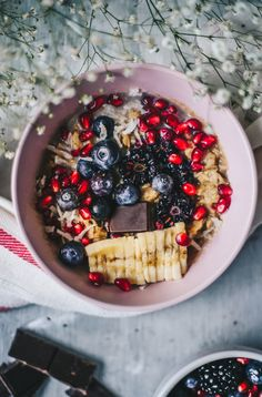 basic stovetop old-fashioned oatmeal #vegan