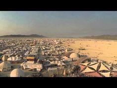 Drone's eye view of Burning Man 2014